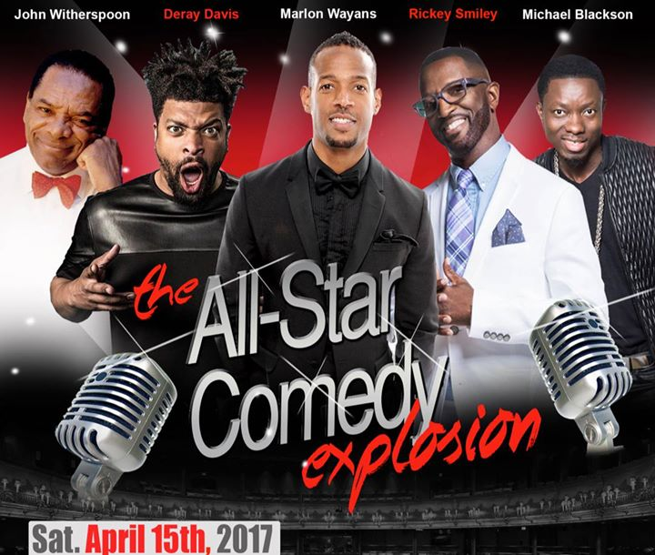 The All-Star Comedy Explosion
