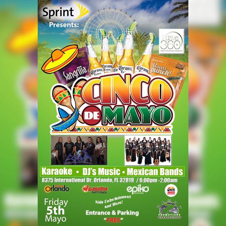 El Cinco De Mayo Festival I Drive 360