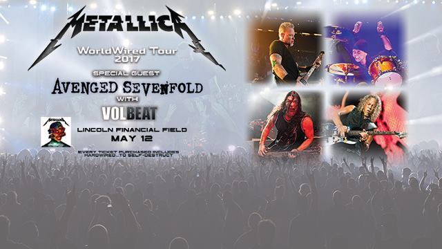 Metallica: WorldWired Tour 2017