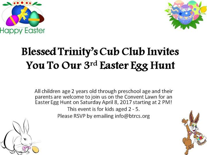 Cub Club Easter Egg Hunt