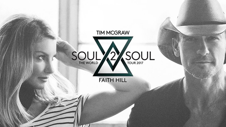 Soul2Soul The World Tour 2017 — Tim McGraw and Faith Hill