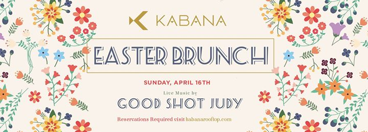 Easter Brunch with Good Shot Judy