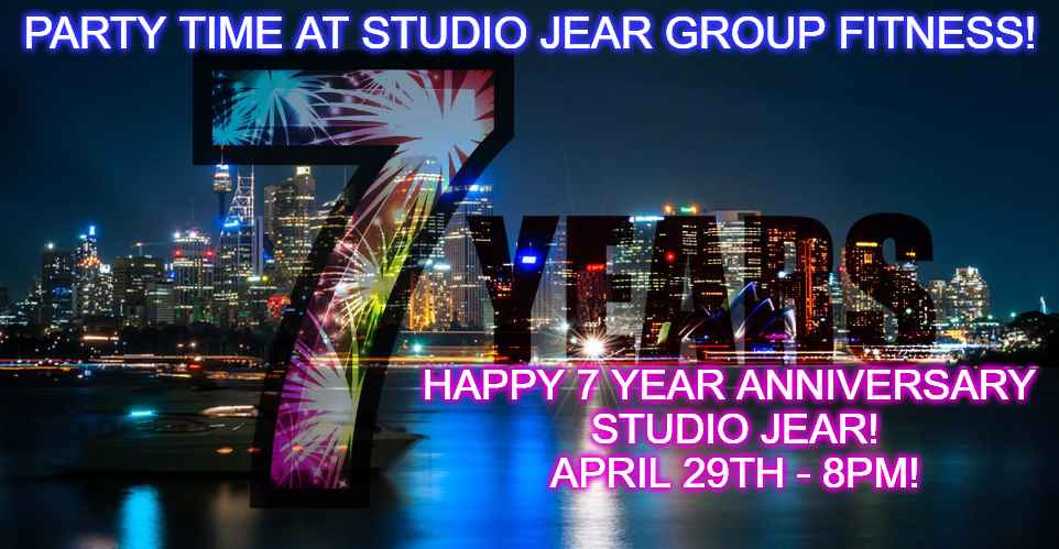 Party Time at Studio Jear As We Celebrate Our 7 Year Anniversary