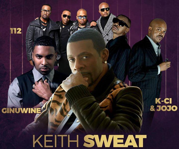 Keith Sweat, Ginuwine, 112, KCi & JoJo