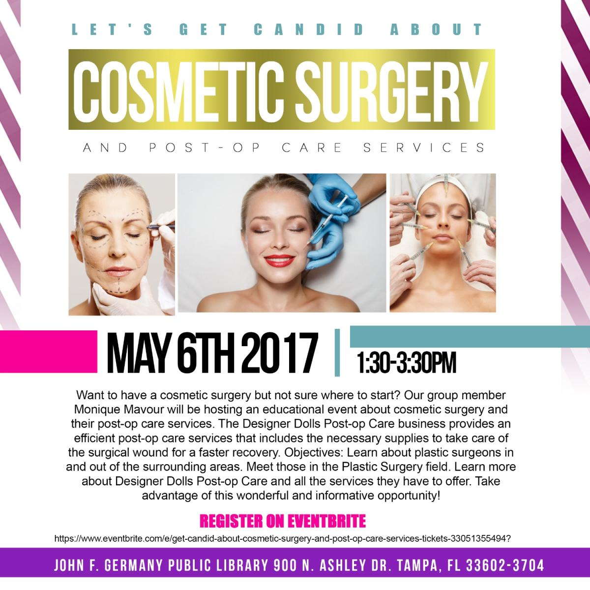 Let's Get Candid About Cosmetic Surgery and Post-op Care Services