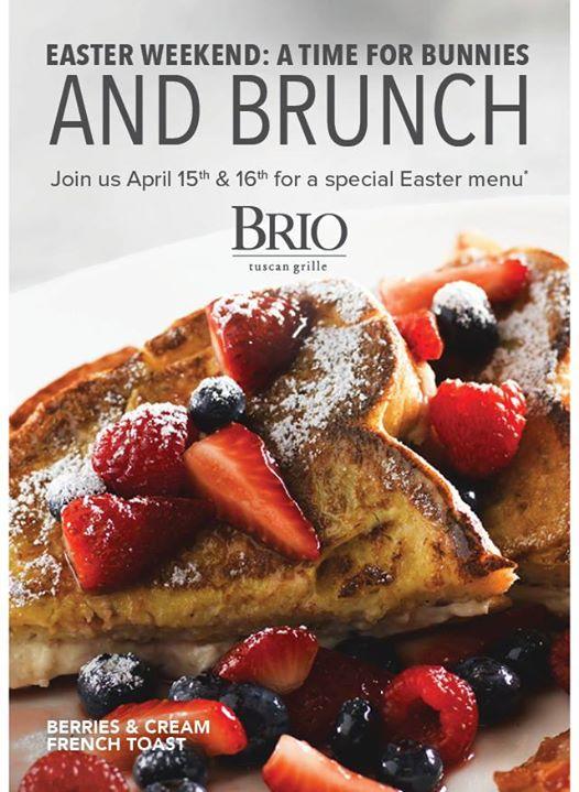 Easter Weekend Brunch | BRIO Tuscan Grille