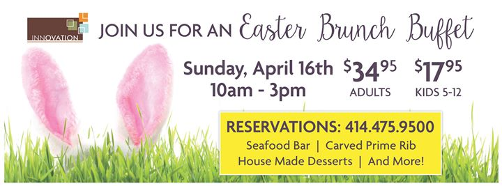 Easter Brunch at the Crowne Plaza