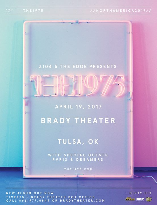 The 1975 // Tulsa // SOLD OUT