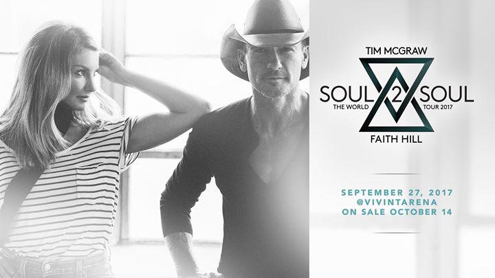 Tim McGraw & Faith Hill Soul2Soul Tour