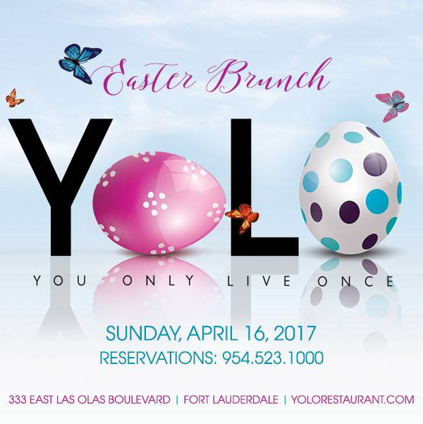 YOLO Easter Brunch