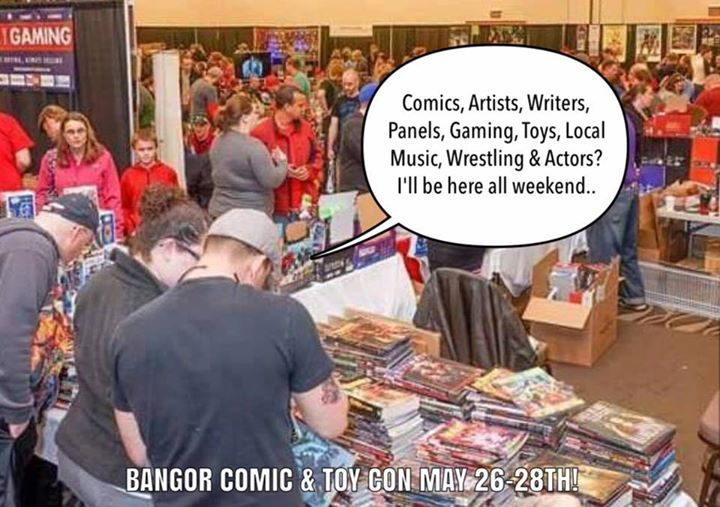 Bangor Comic & Toy Con '17