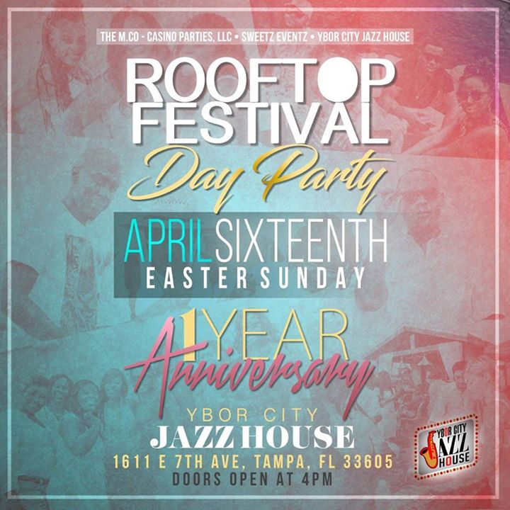 Rooftop Festival 1 Year Anniversay Party