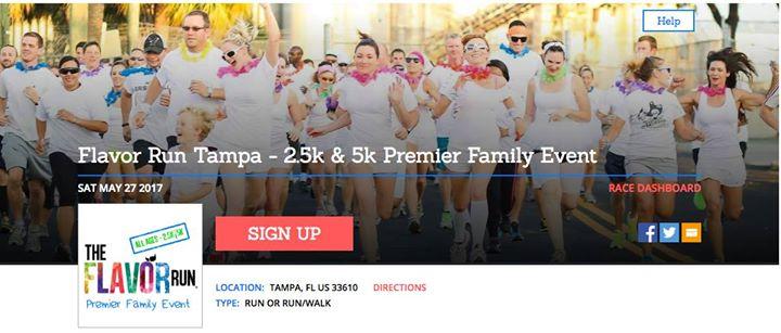 Flavor Run Tampa - 2.5k & 5k Premier Family Event