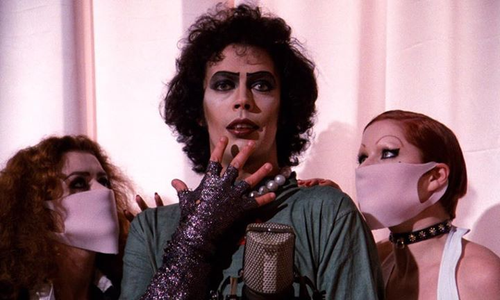 The Rocky Horror Picture Show Tampa w/live cast Hell on Heels