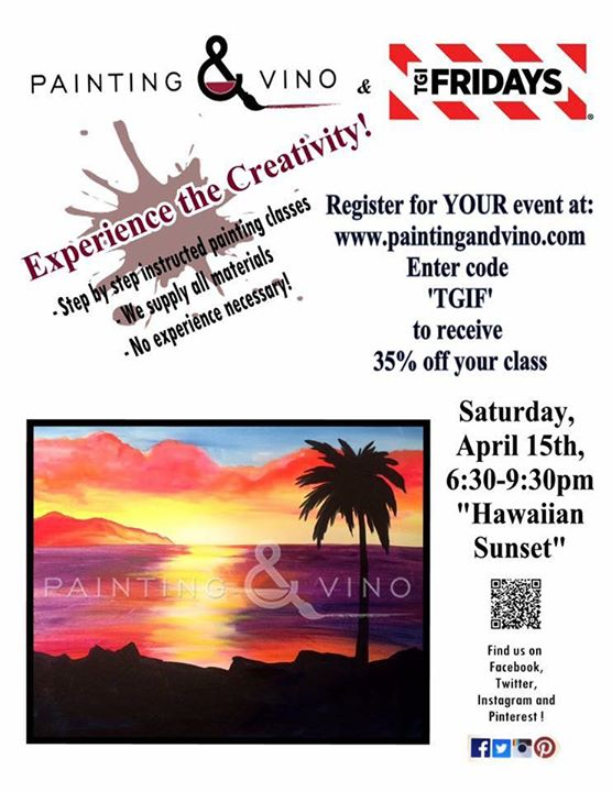 Painting and Vino | Fridays Tampa