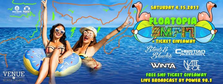 Floatopia - SMF 2017 Pool Party + Ticket Giveaway