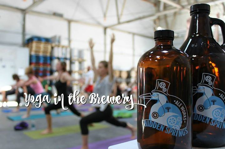 Yoga in the Brewery