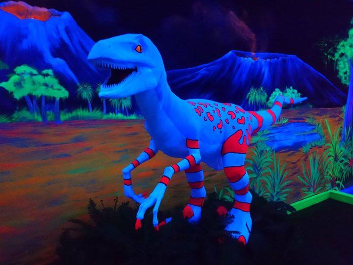 RAWR! Dino-Glow! A Sexy Blacklight Party