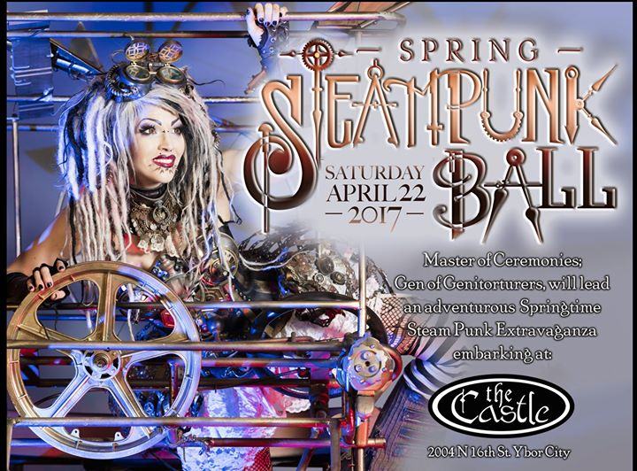 Spring Steampunk Ball | The Castle