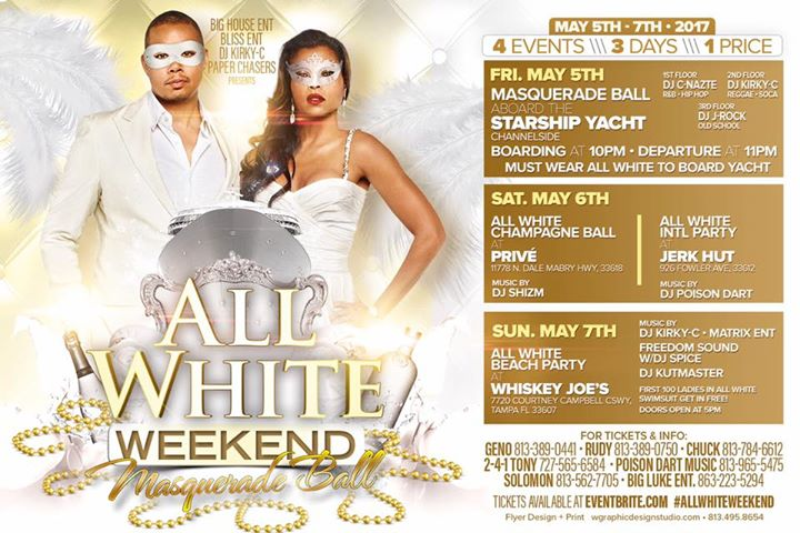 All White Weekend | Yacht StarShip