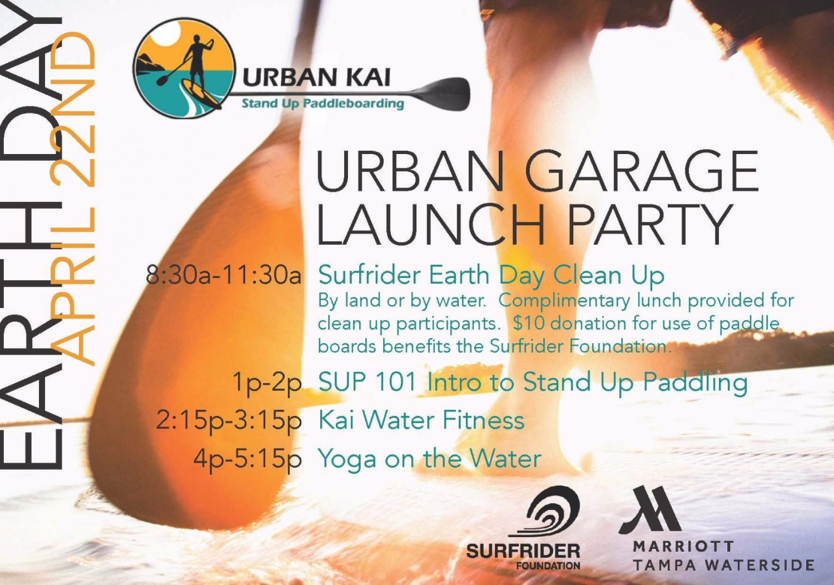 Earth Day Urban Kai Garage Launch Party