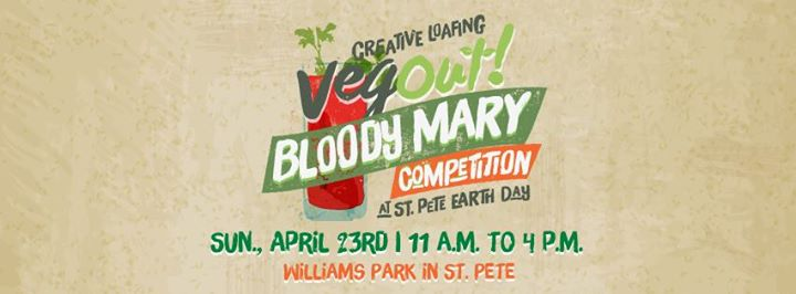CL's Veg Out! Bloody Mary Competition at St. Pete Earth Day 2017