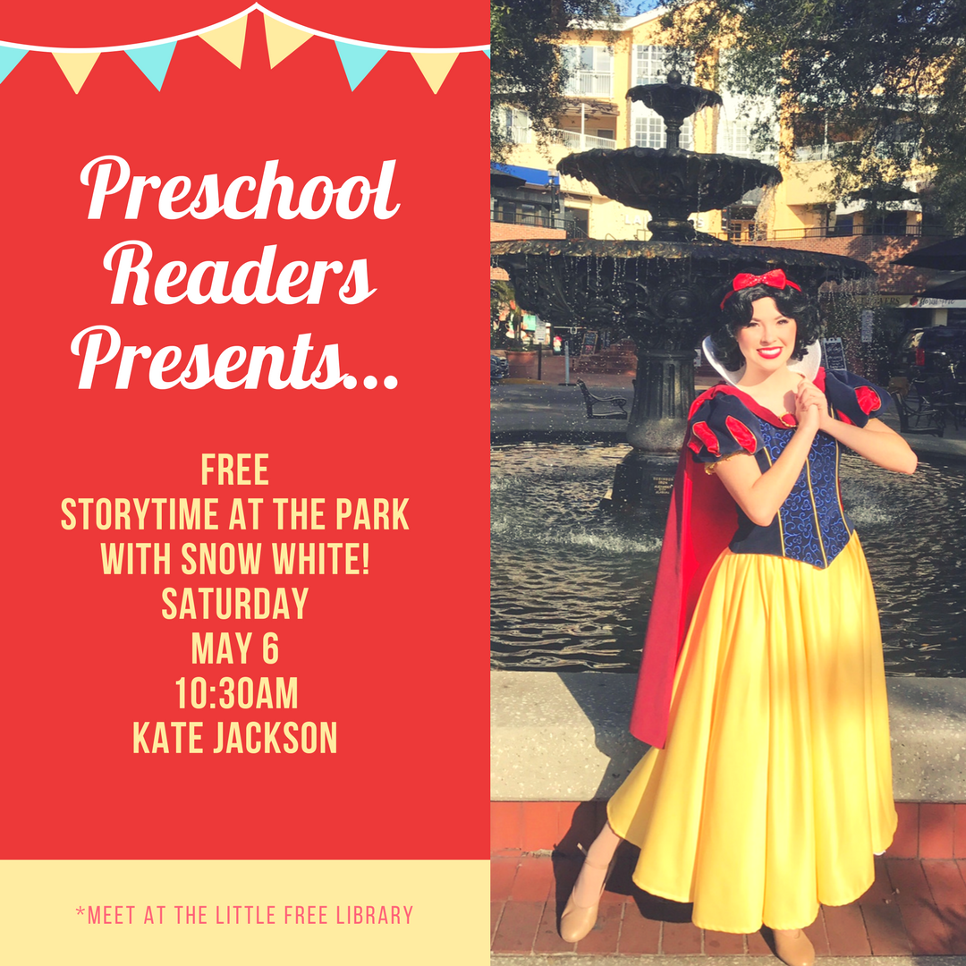 Storytime at the Park With Snow White