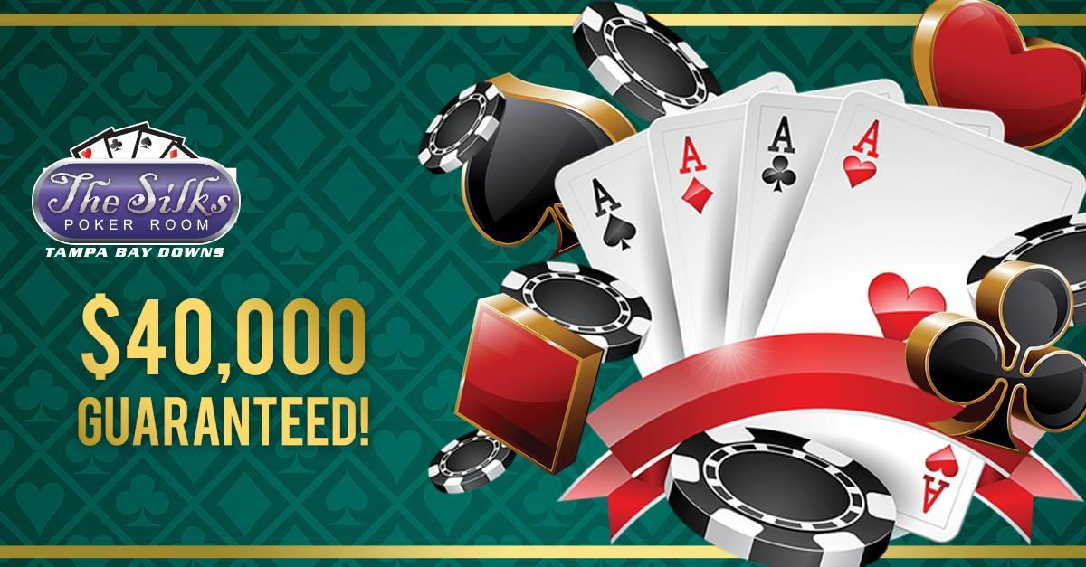 $40,000 Guaranteed NLH Tournament at Silks Poker Room