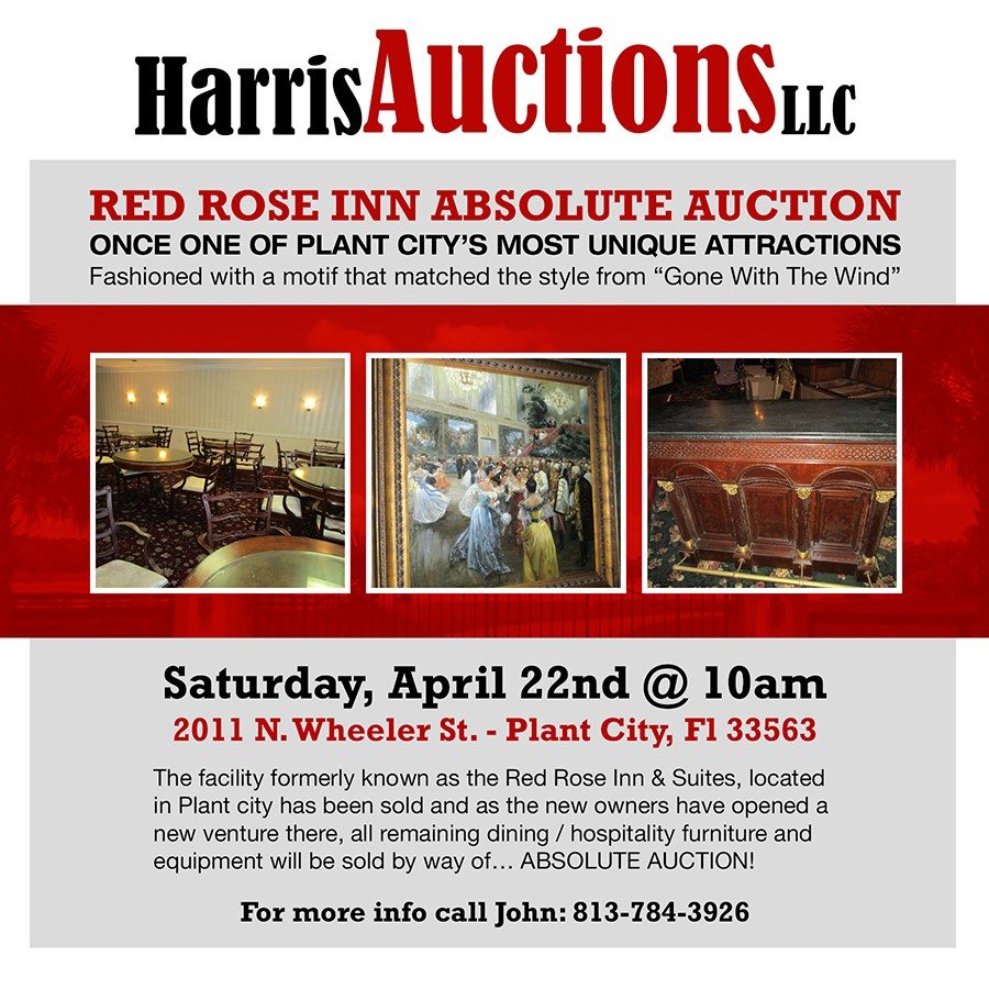 Red Rose Inn & Suites Absolute Auction