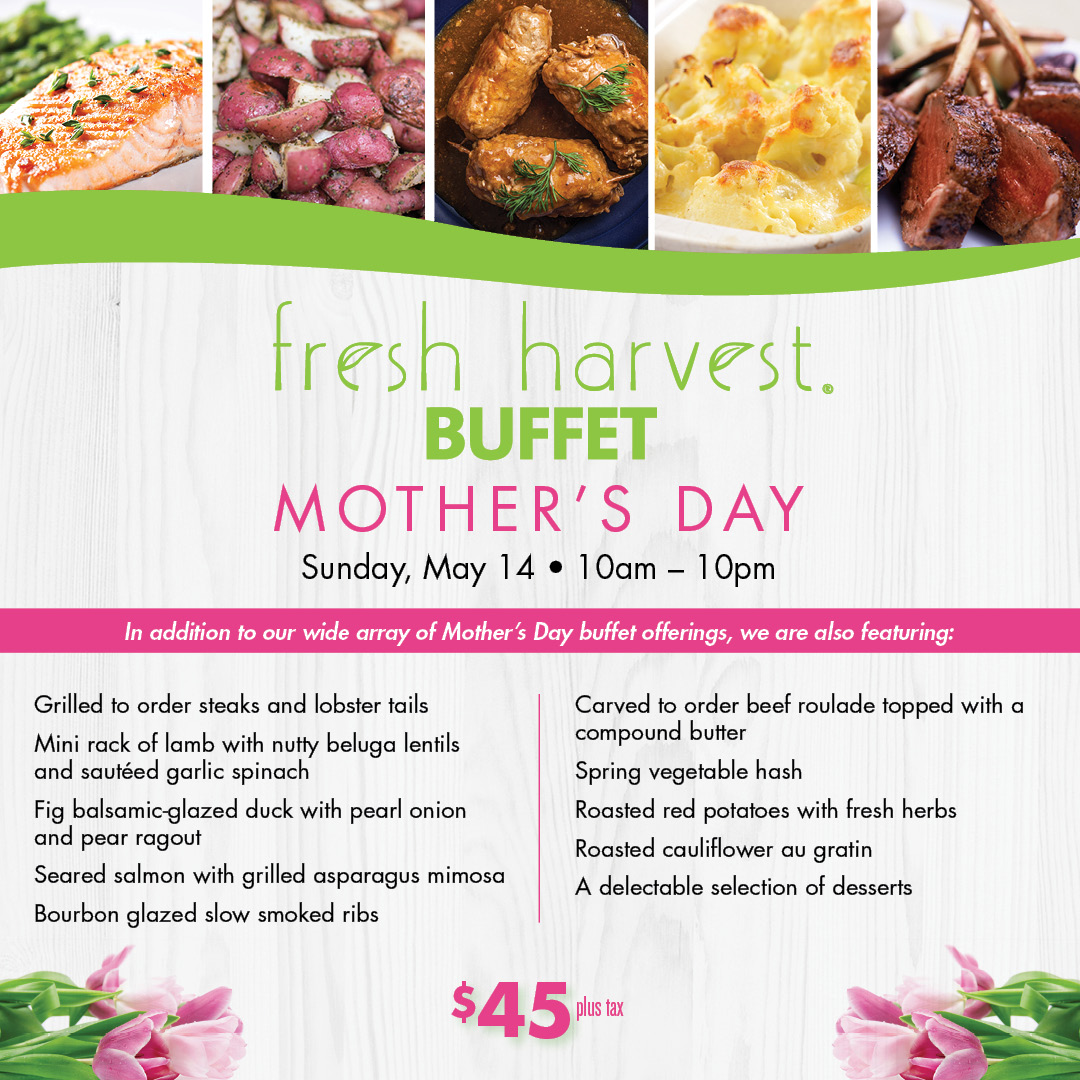 Miraculous Fresh Harvest Mothers Day Buffet Tampa Fl May 14 2017 Download Free Architecture Designs Scobabritishbridgeorg