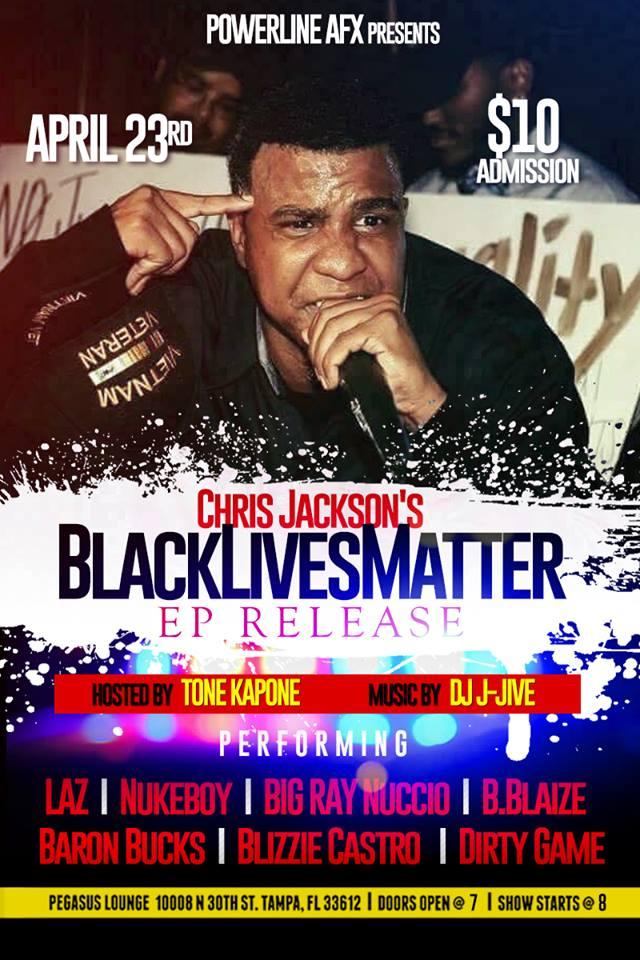 BLACKLIVESMATTER EP RELEASE PARTY