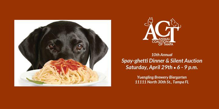 Spay-ghetti Dinner & Silent Auction