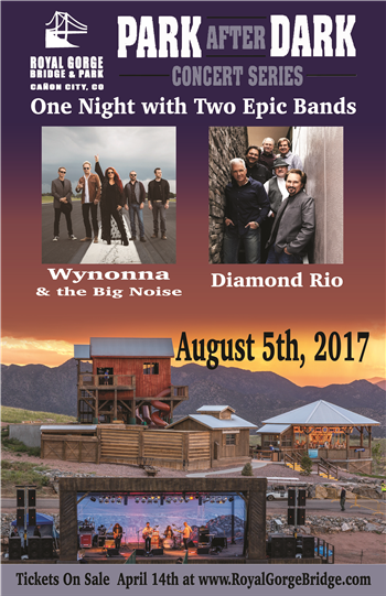 Park After Dark Concert Series Wynonna Judd & the Big Noise and Diamond Rio