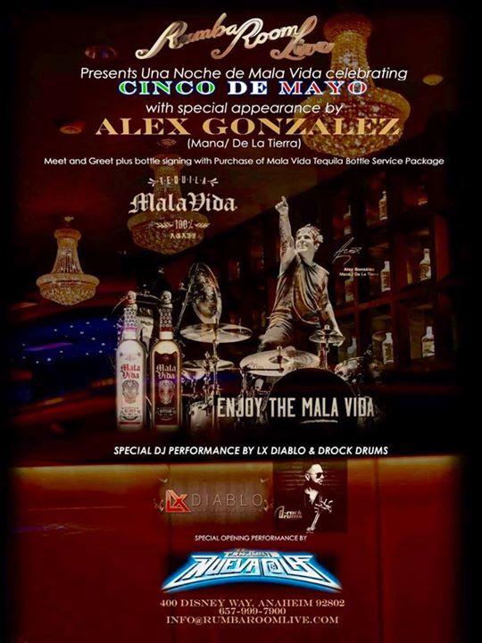 Cinco De Mayo Una Noche De Mala Vida Tequila With Alex
