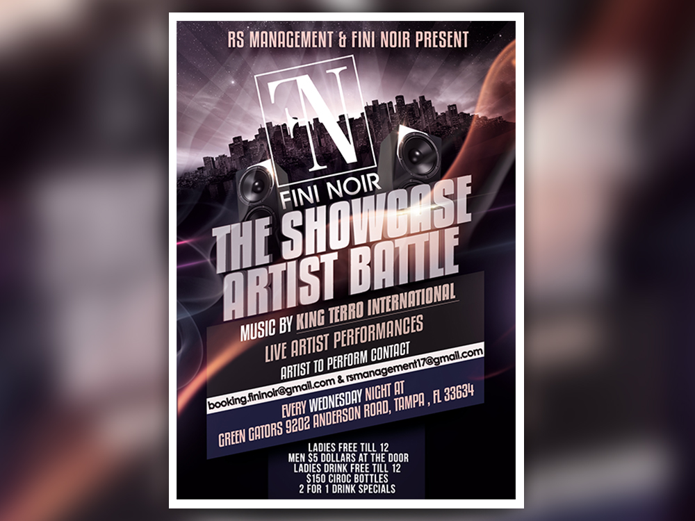 THE SHOWCASE ARTIST BATTLE