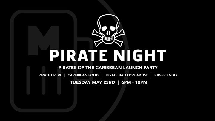 Pirate Night at Millennial