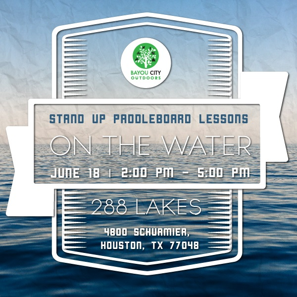 BCO Stand Up Paddleboard Lessons - on the water!