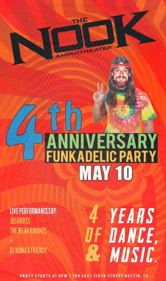 4th Anniversary Funkadelic Party