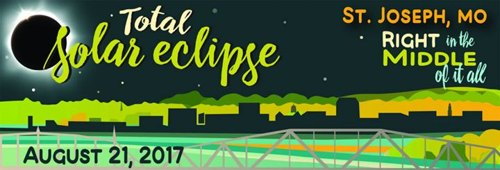 Eclipse 2017 in St. Joseph, MIssouri