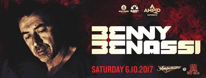 Benny Benassi – Amp!d Saturdays – June 10 – Tampa, FL