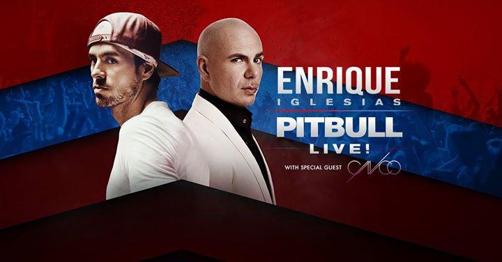Enrique Iglesias & Pitbull Live! with CNCO