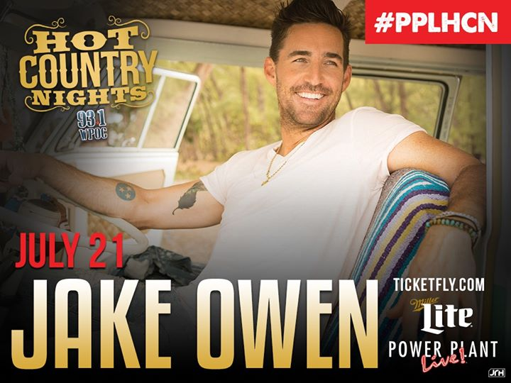Jake Owen at Power Plant Live