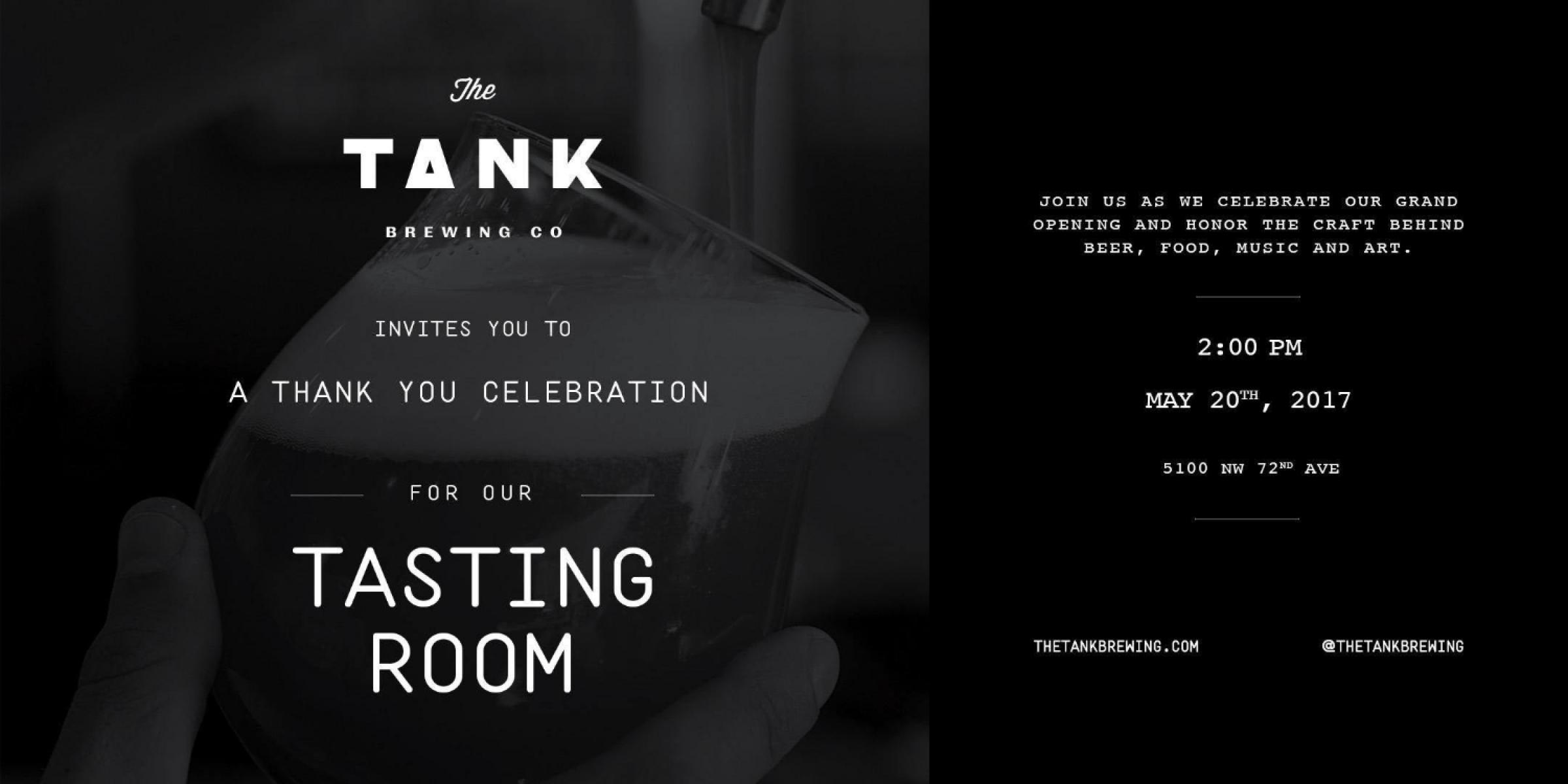 The Tank's Thank You Celebration