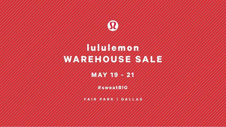 Dallas Warehouse Sale (#sweatbig)