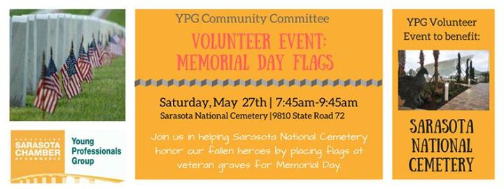 YPG Volunteer Event: Memorial Day Flags