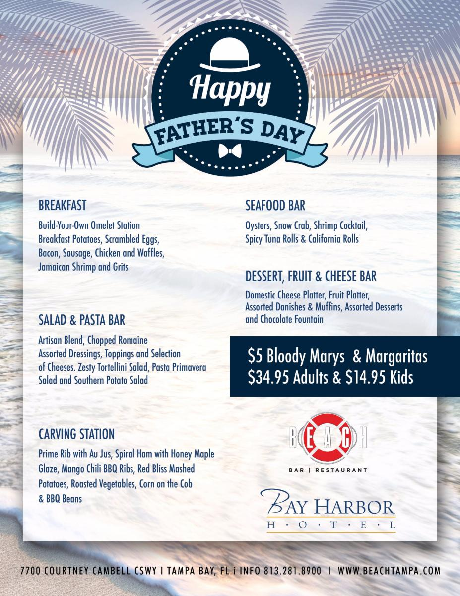 Father's Day Brunch at Bay Harbor Hotel