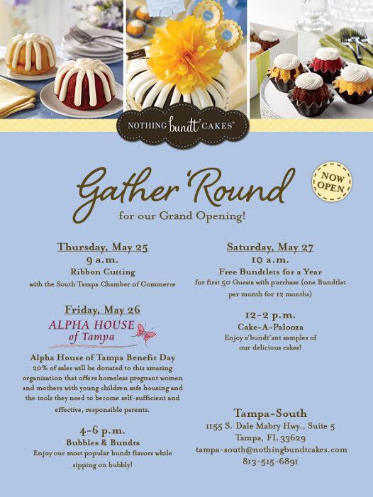 Nothing Bundt Cakes Grand Opening!