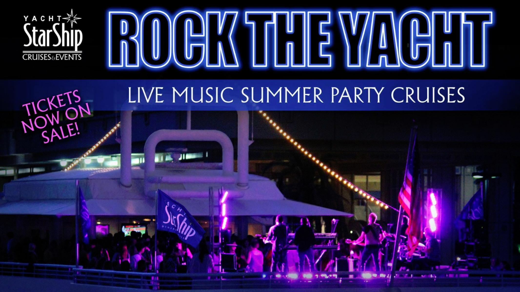 Rock the Yacht Live Music Party Cruises