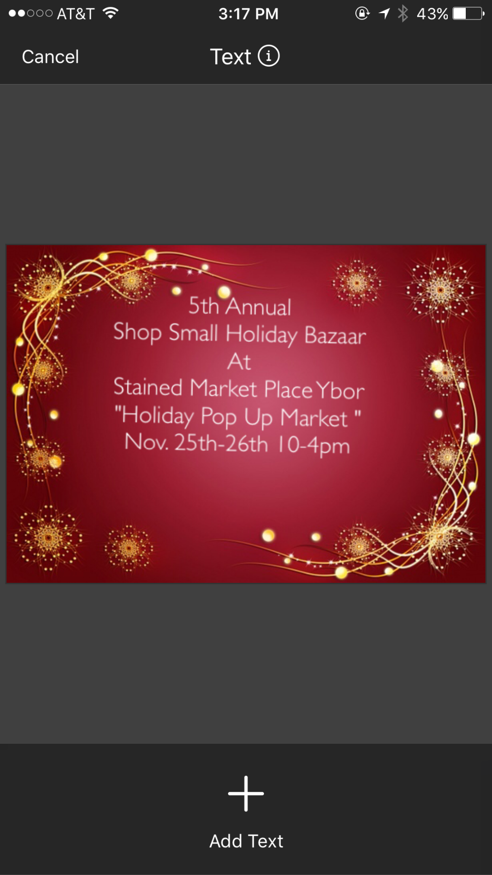 5th Annual: Shop Small Holiday Bazaar