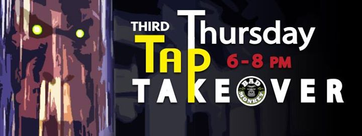 Tap Takeover at The Bad Monkey - Guest Brewer TBA